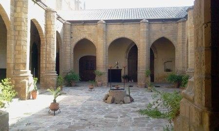 Claustro gótico de la Catedral de Baeza