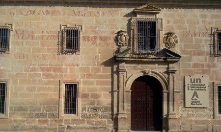 Fachada con Vítores del Seminario San Felipe Neri
