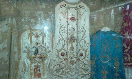 Vestimentas del Museo Catedraclicio de Baeza