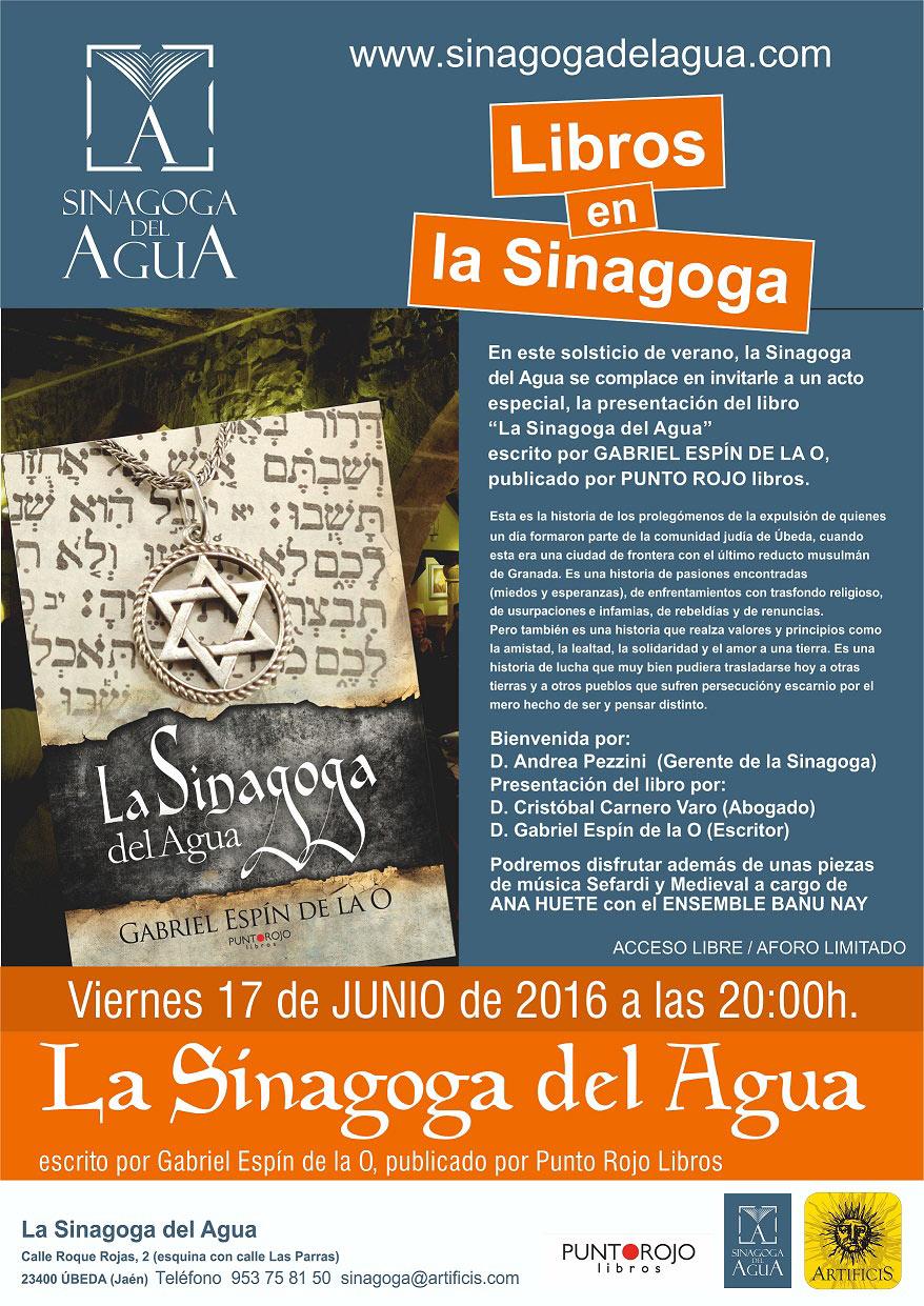 Cartel Libros En La Sinagoga Sinagoga Del Agua Blog De Turismo Rural